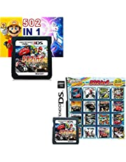 $29 » 502 in 1 Game Cartridge, DS Game Pack Card Compilations, Super Combo Multicart for Nintendo DS, NDSL, NDSi, NDSi LL/XL, 3DS, 3DSLL/XL, New 3DS, New 3DS LL/XL, 2DS, New 2DS LL/XL