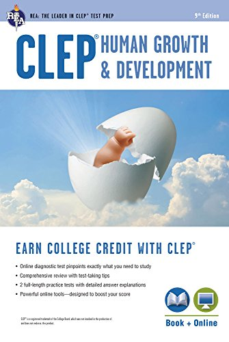 CLEP® Human Growth & Development Book + Online (CLEP Test Preparation)