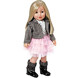 """Adora Amazing Girls 18-inch Doll, """"Harper"""" (Ages 6+) [Amazon Exclusive]"""