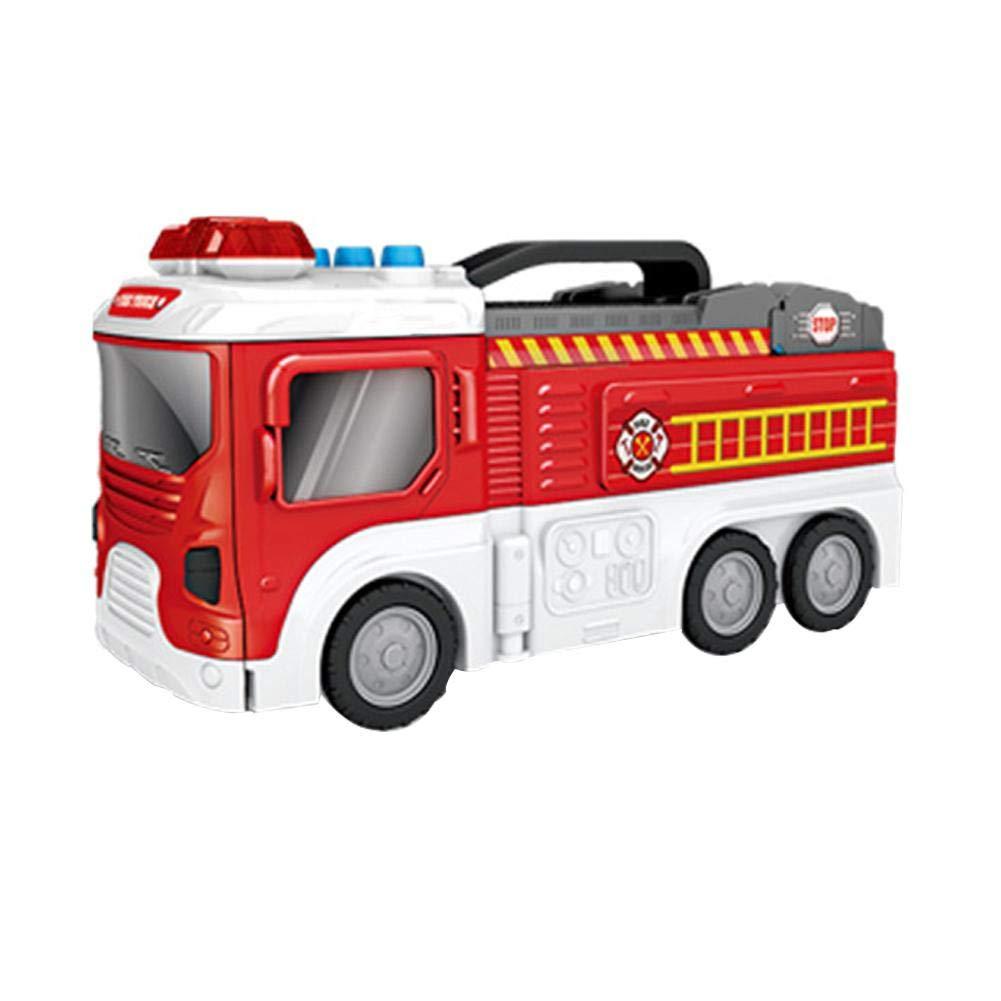 Voiture 1 PompierStockage Jouet De 16 Piste Camion Avec BWCroedx
