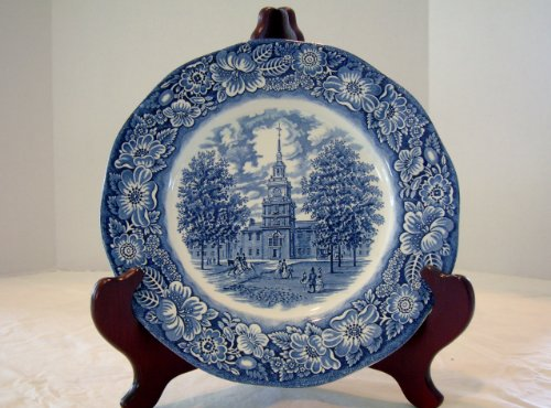 Staffordshire Liberty Blue Dinner Plate ()