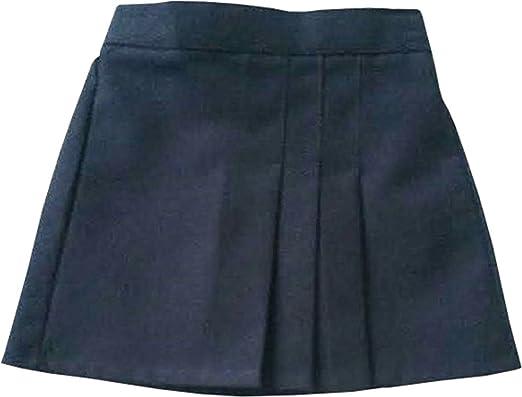 KK Uniform Falda de Escuela Plisada con 3 Pliegues, Color Azul ...