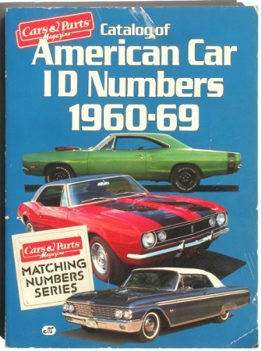 Catalog of American car ID numbers, 1960-1969 ()