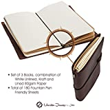 Refillable Leather Journals for Men Women, Best