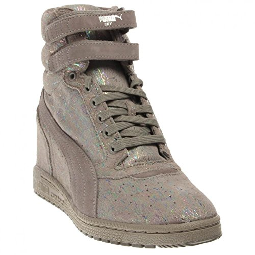 Puma Sky Wedge Iri Suede Womens Platform - Suede Platform Shoe Shopping Results