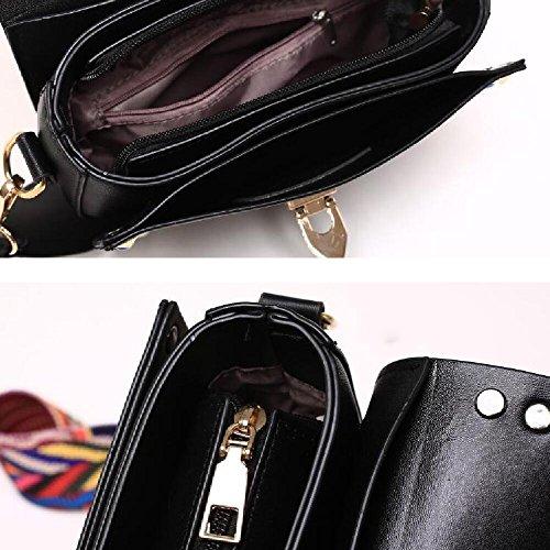 Cross Mini PU Leather Colorful Rivet Body Bags Women xHXfq
