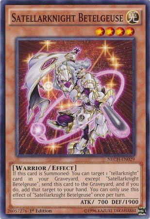 YU-GI-OH SATELLARKNIGHT PROCYON NECH-EN028