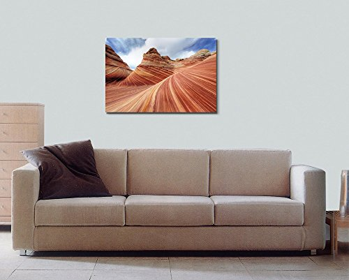 The Wave Rock Formation at North Coyote Buttes in Utah USA Wall Decor