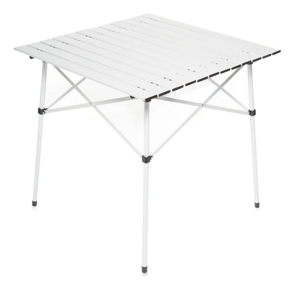 Eurohike Elite Roll Up Mesa Muebles de Camping Blanco
