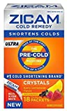 Zicam Cold Remedy Ultra Berry Lemonade Crystals 18 ct (6 Pack)