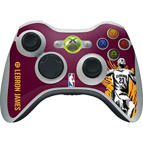 Cleveland Cavaliers Xbox 360 Wireless Controller Skin - LeBron James Inked | NBA & Skinit Skin