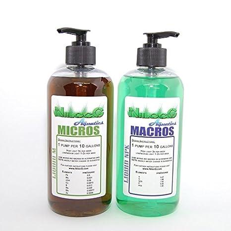 Liquid NPK+M - Aquarium Liquid Fertilizer - Nilocg Aquatics