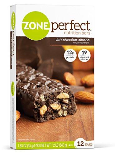 zone dark chocolate almond - 2