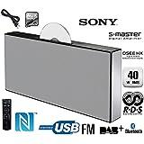 SONY CMTX5CDBW Hi-Fi/CD System 40W O/P with Bluetooth/NFC, FM +DAB,DAB+ ,USB Port, Remote + Aux Lead -CMT-X5 - White
