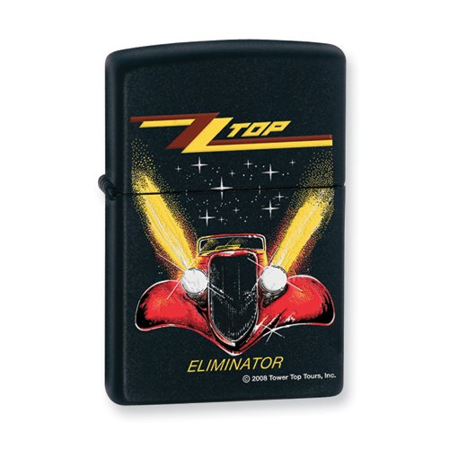 Zippo ZZ Top Black Matte (Zz Top Lighter)