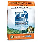 Natural Balance L.I.D. Limited Ingredient Diets Sweet Potato & Fish Formula Dry Dog Food, 26-Pound
