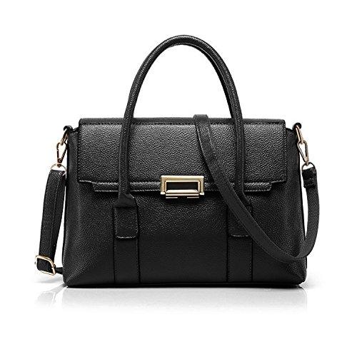 - Fashion Handbags,ZZSY Leather Top Handle Tote Flap Handbags Crossbody Shoulder Bag for Women Ladies