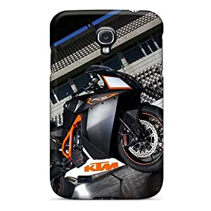 Bumper Cell-phone Hard Cover For Samsung Galaxy S4 With Customized Nice Ktm Pattern KaraPerron