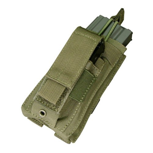 (CONDOR MA50 Kangaroo M4 / M16 & Pistol Magazine Pouch (OD))