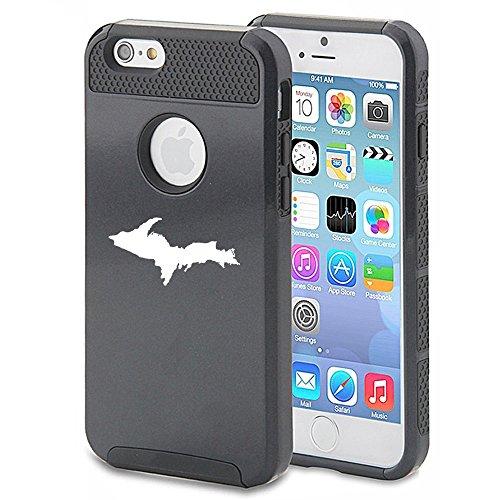 apple-iphone-6-plus-6s-plus-shockproof-impact-hard-case-cover-upper-peninsula-michigan-black