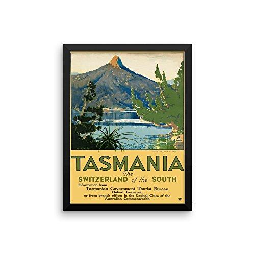 vintage-poster-tasmania-premium-luster-photo-paper-framed-poster-12x16