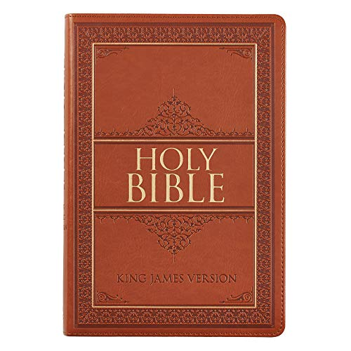 Holy Bible: KJV Large Print Thumb Index Edition: Tan