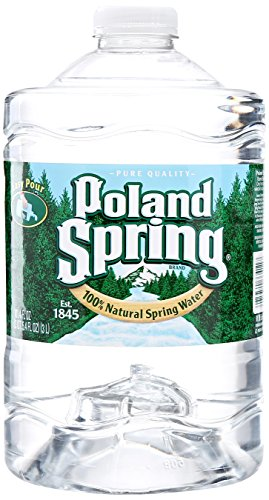 Poland Spring Brand 100% Natural Spring Water, 101.4 Oz Plastic Jug (Spring Water compare prices)