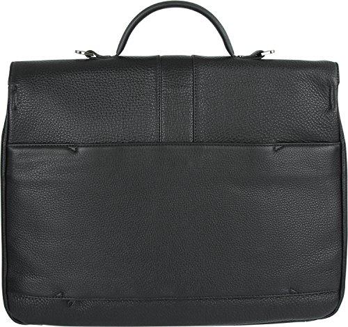 Braun Büffel Turin Aktentasche mit Laptopfach black_black x