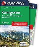 Königssee, Nationalpark Berchtesgaden, Watzmann: Wanderführer mit Extra-Tourenkarte, 42 Touren, GPX-Daten zum Download. (KOMPASS-Wanderführer, Band 5441)