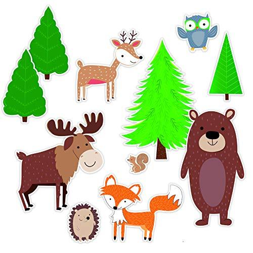 Jumbo Bulletin Board - Creative Teaching Press Jumbo Woodland Friends Bulletin Board, CTP 8689