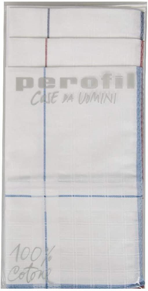 Perofil Confezione 3 fazzoletti cm.45x45 articolo P344B