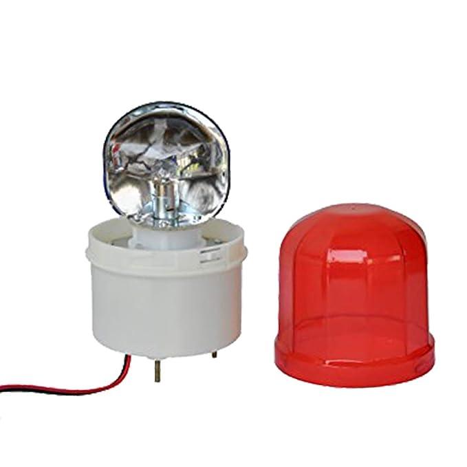 Amazon.com: LTE-1102J AC110V - Luz de advertencia giratoria ...