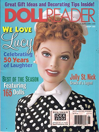 Doll Reader Magazine (December 2001/January 2002 - We Love Lucy) (Magazine Reader Doll)