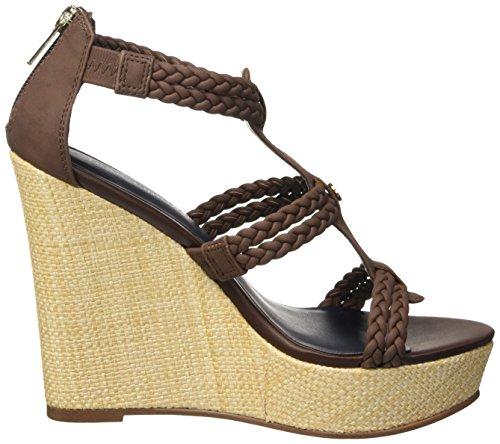 Tommy Hilfiger SM B1285EATRICE 2 - zapatos con correa Mujer Marrone (Coffee 211)
