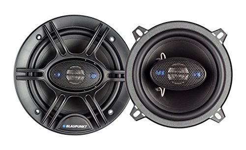 Blaupunkt 5.25-Inch 300W 4-Way Coaxial Car Audio Speaker, Set of 2