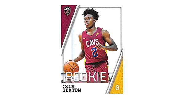 Amazon.com  2018-19 Panini NBA Stickers Basketball  87 Collin Sexton RC  Rookie Card Cleveland Cavaliers  Collectibles   Fine Art f9c8a7d4e
