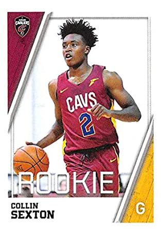 7d9ccacc5 2018-19 Panini NBA Stickers Basketball  87 Collin Sexton RC Rookie Card Cleveland  Cavaliers
