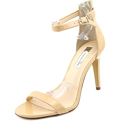 INC International Concepts Womens Roriee Open Toe Special Summer Nude Size 85