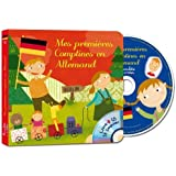 Mes Premieres Comptines en Allemand (1 Livre CD)