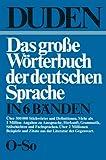 Duden : Das Große Wörterbuch der Deutschen Sprache in Sechs Bänden Band 5: O-So, Drosdowski, Gunther, 1468405861