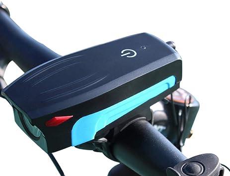 DAMAI LED Luz Bicicleta Luces Bicicleta Delantera USB Recargable ...