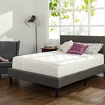 Amazon Com Slumber 1 12 Quot Comfort Euro Box Top Spring