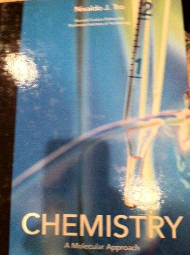 Chemistry (A Molecular Approach, Custom Edition for RIT)