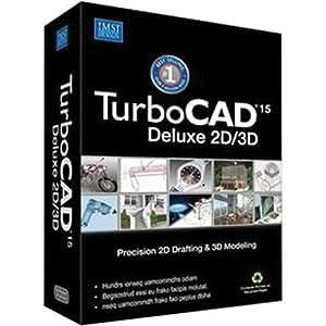 Amazon Com Turbocad 15 Deluxe 2d 3d