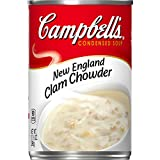 Campbell s Condensed New England Clam Chowder, 10.5 Ounce (Pack of 12)