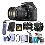 Nikon D810 DSLR BUNDLE w/AF-S 24-120mm f/4G ED VR Lens + Premium Accessory Kit