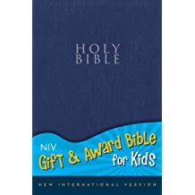 NIV, Gift and Award Bible for Kids, Imitation Leather, Navy, Red Letter