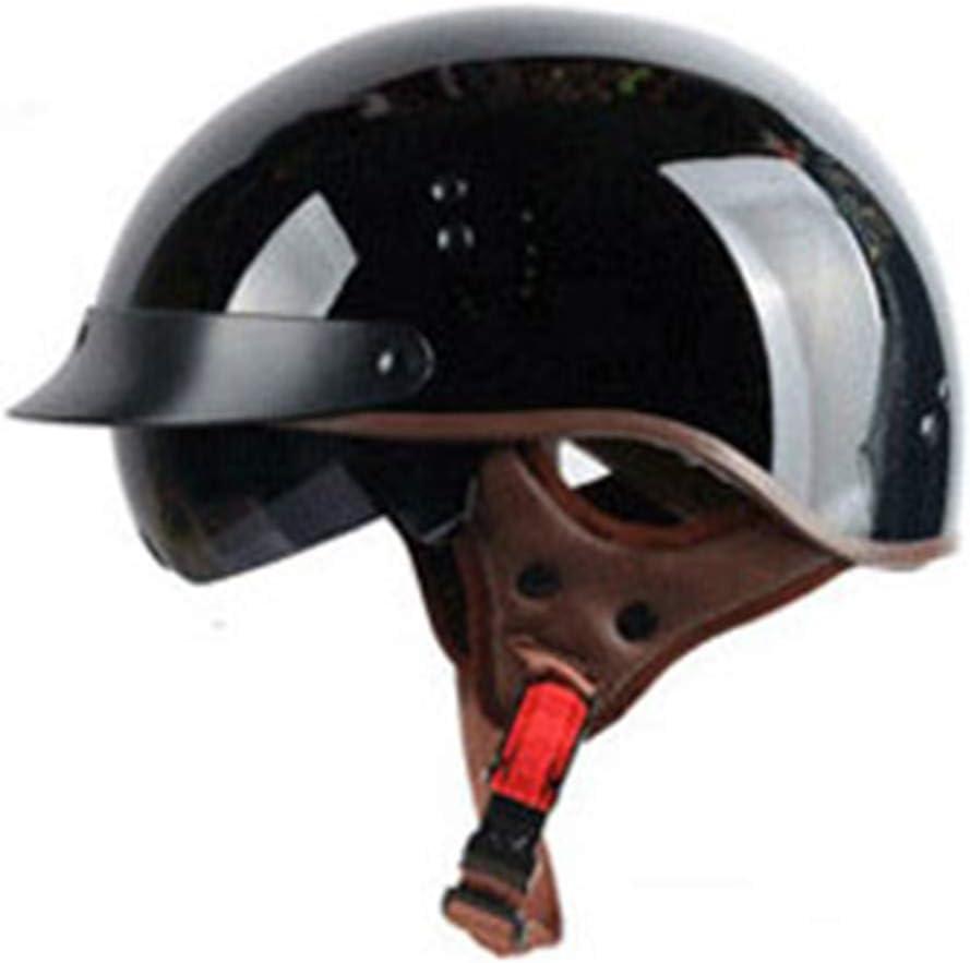 casque de moto Harley et demi-T55 r/étro d/ét/é avec miroir /électrique int/égr/é. Casques EF
