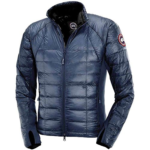 Canada Goose Hybridge Lite Jacket - Men's Spirit / Pacific Blue XL (United Face Down Jacket compare prices)