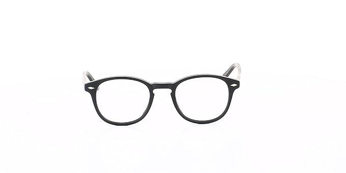 9018a50fa6 Lesca MATT100 Lunette de vue Mixte Noir N.C.: Amazon.fr: Vêtements ...